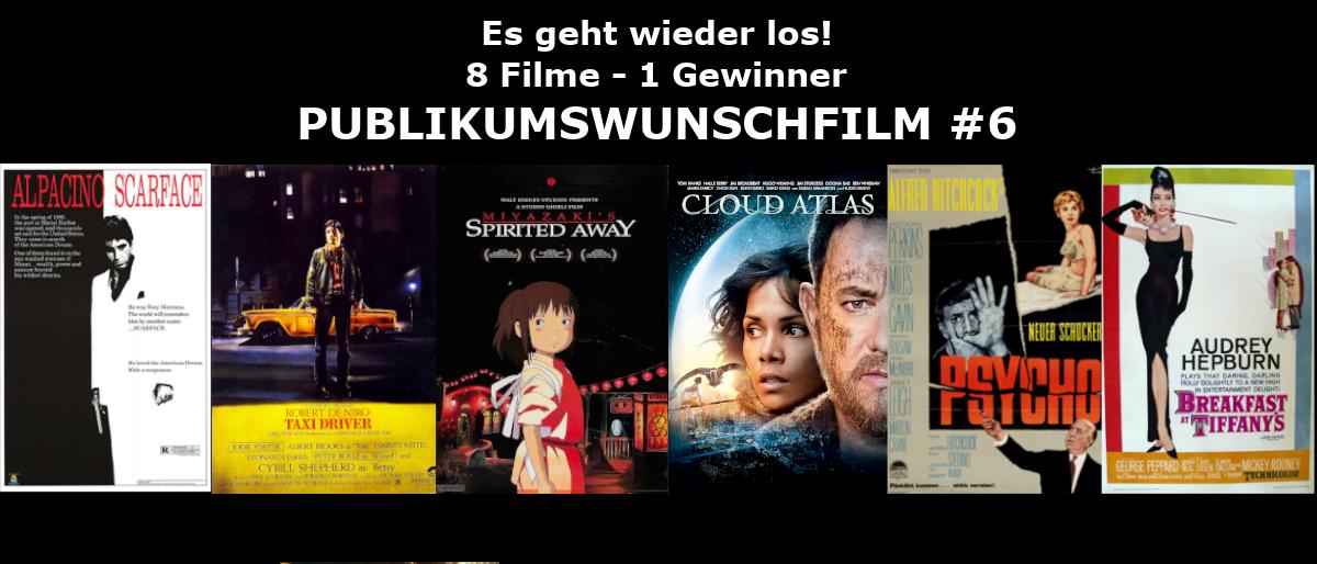 <strong>Wahl zum Publikumswunschfilm #6</strong>