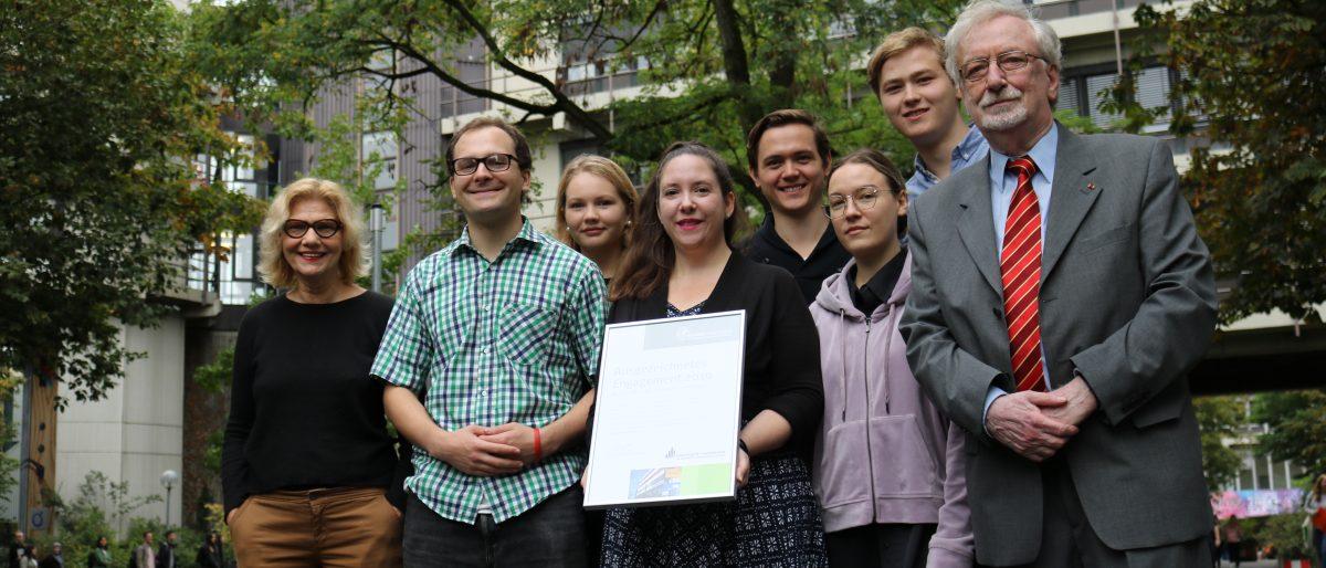 Programmkino Lichtblick erhält den Alumnipreis 2019